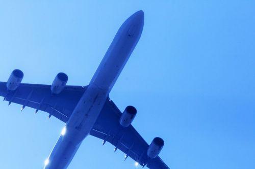 Underside Of A340