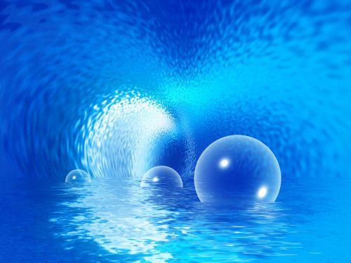vanduo, povandeninis, fantazija, šviesa, mėlynas, upė, jūra, burbulas, bangos, povandeninė fantazija 1