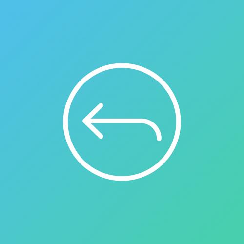 undo icon arrow
