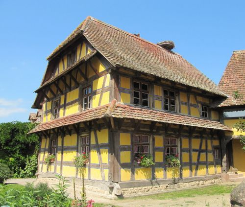 ungersheim ecomuseum truss farmhouse