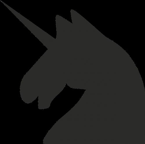 unicorn horse minimalist