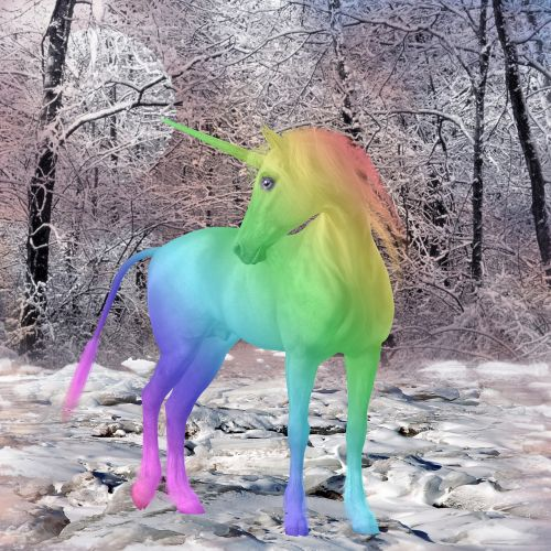 unicorn mythical creatures colorful