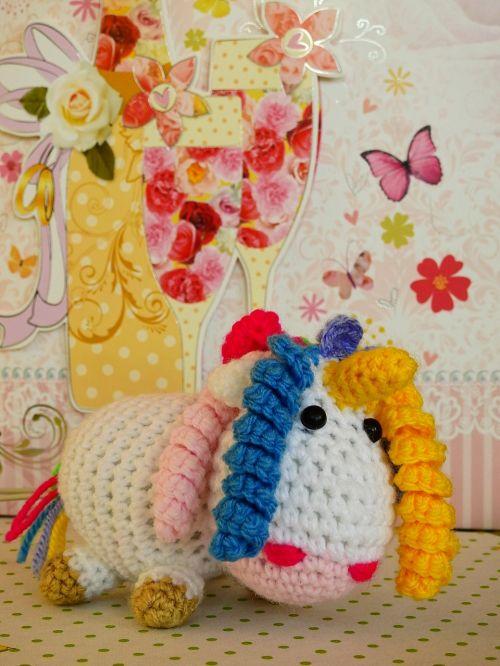 unicorn knit wool