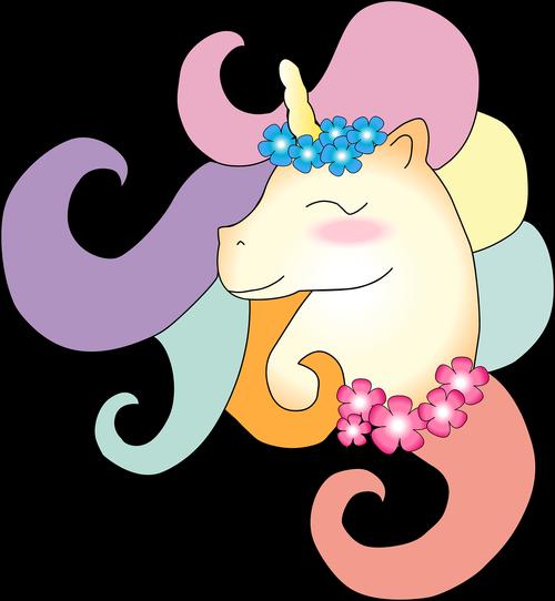 unicorn  colors  cute