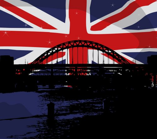 union jack flag bridge