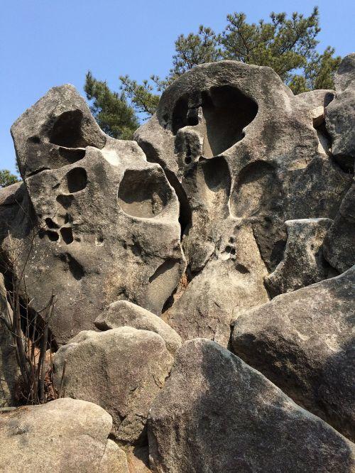 unique rock mountain