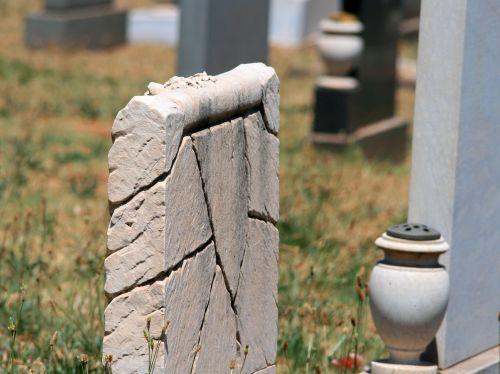 Unique Headstone