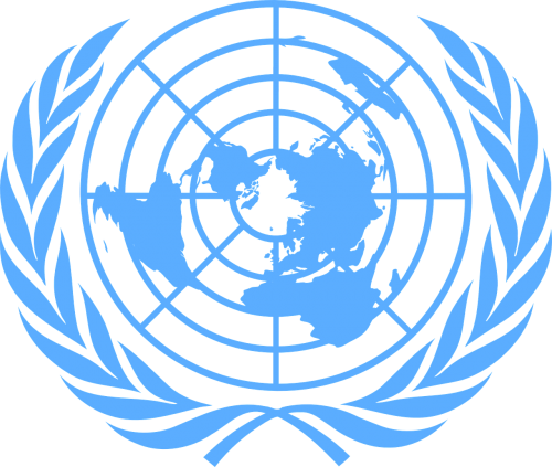 united nations blue logo