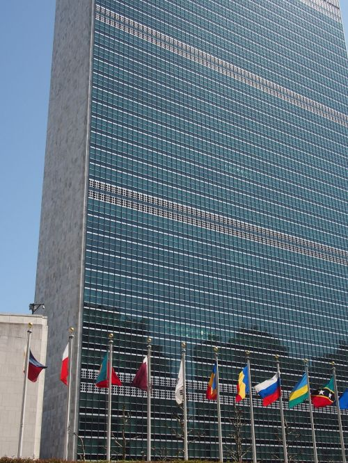 united nations building architecture