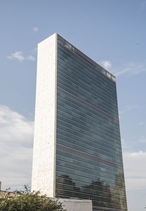 united nations new york sky