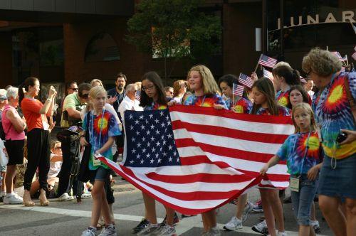united states flag cincinnati