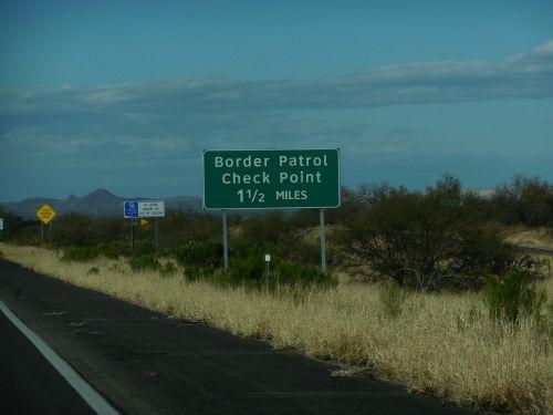 united states border patrol check point