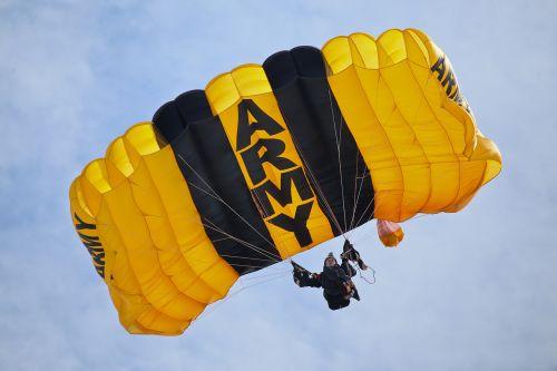 united states army parachute team parachute skydive