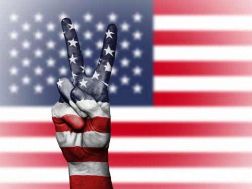 usa, vėliava, taika, united, valstijos, simbolis, reklama, tauta, Jungtinės Valstijos vėliavos su taikos ženklu