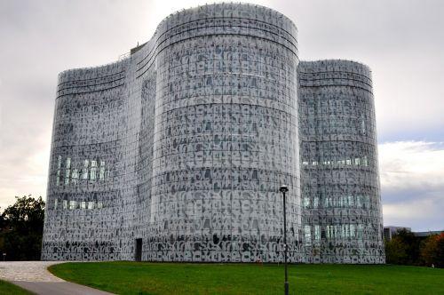 university library building modern