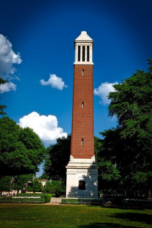 university of alabama denny chimes sky