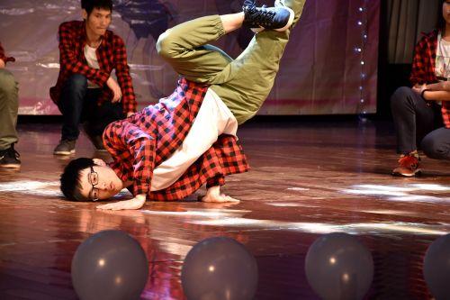 university student dance character