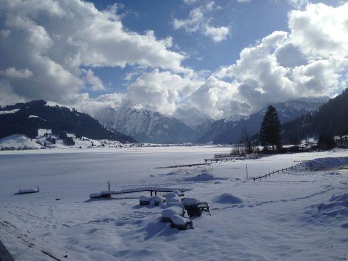unteriberg alpine snow