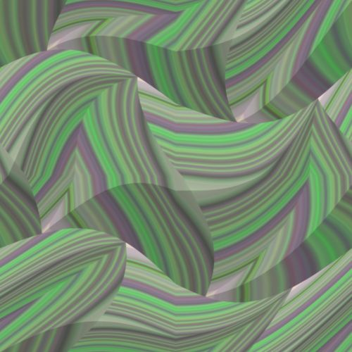 Unusual Green Waves