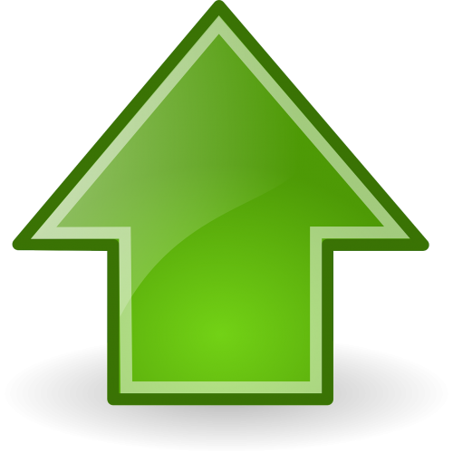 up upward arrow