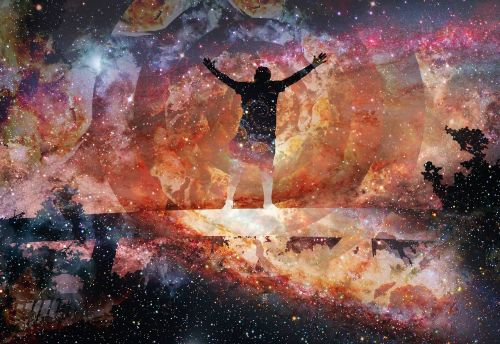 uplifting space trippy