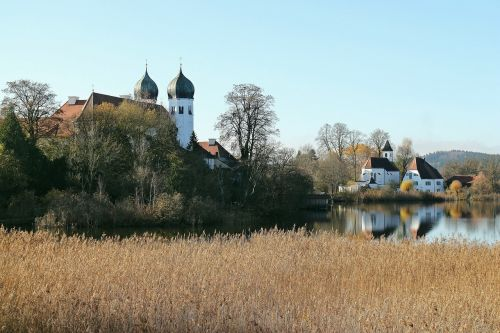 upper bavaria monastery church
