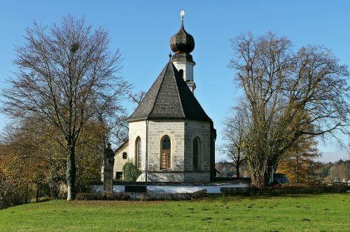 upper bavaria church st mary