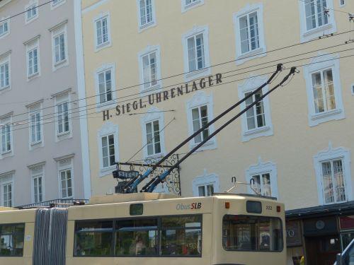 upper lines trolley bus bus