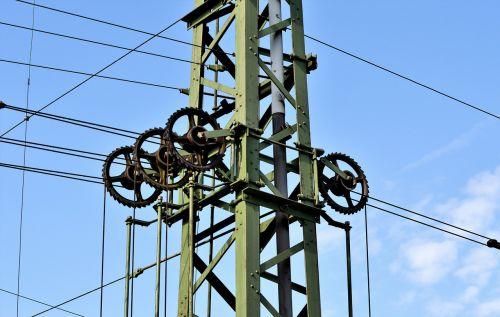 upper lines radspann mast overhead line clamp