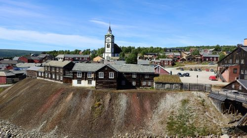 upper town mining historical houses