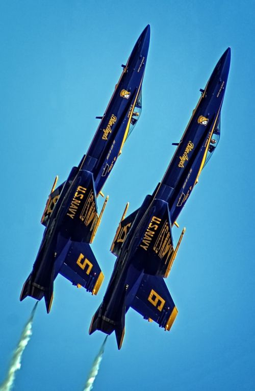 upwards blue angels usaf