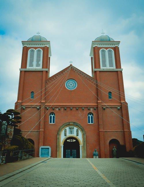 urakami cathedral  nagasaki  cathedral