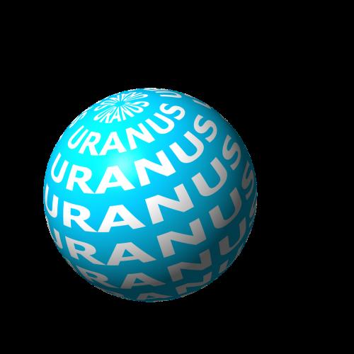 uranus planet space