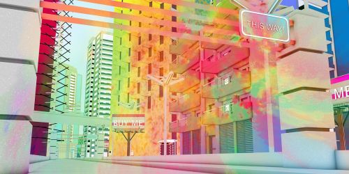 urban city building