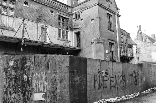 urban decay derelict abandoned