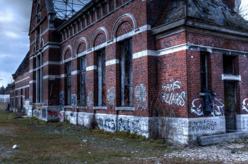 urbex,miesto,tyrinėjimas,Briuselis,nusidėvėjęs,stotis