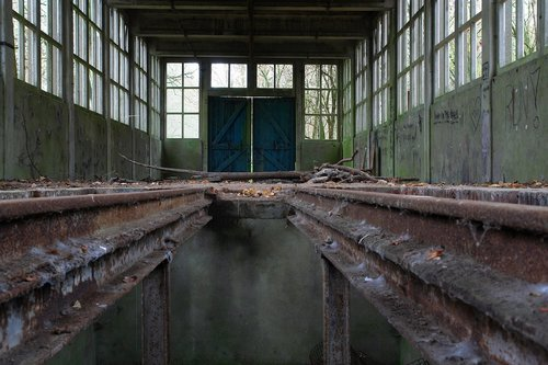 urbex  holland  train track