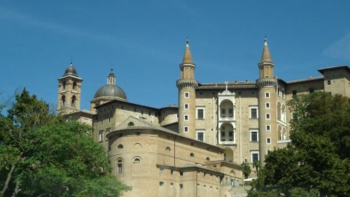 urbino architecture tower