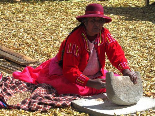 uros titicaca peru