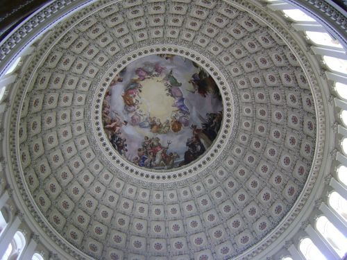 us capitol cupola rotunda