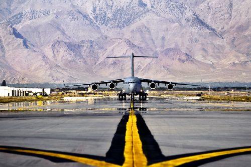 U.S. Military Cargo Plane