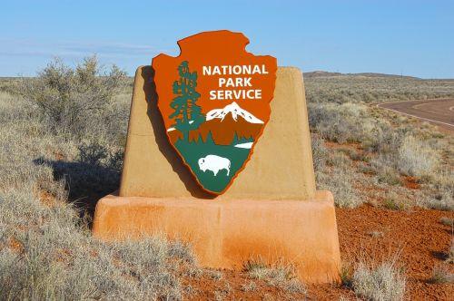 usa national park sign