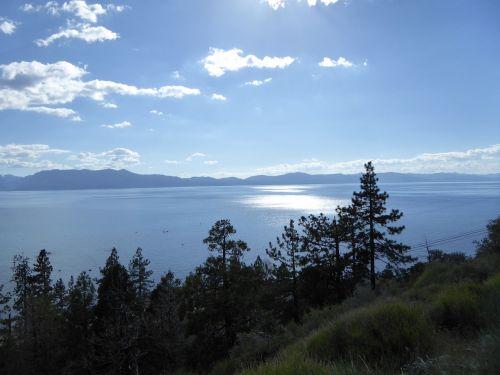 tahoe lake taho usa
