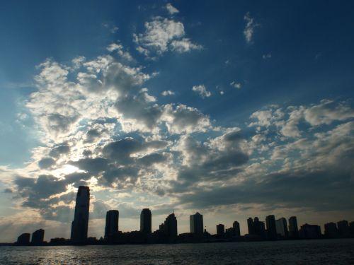 usa clouds new york city