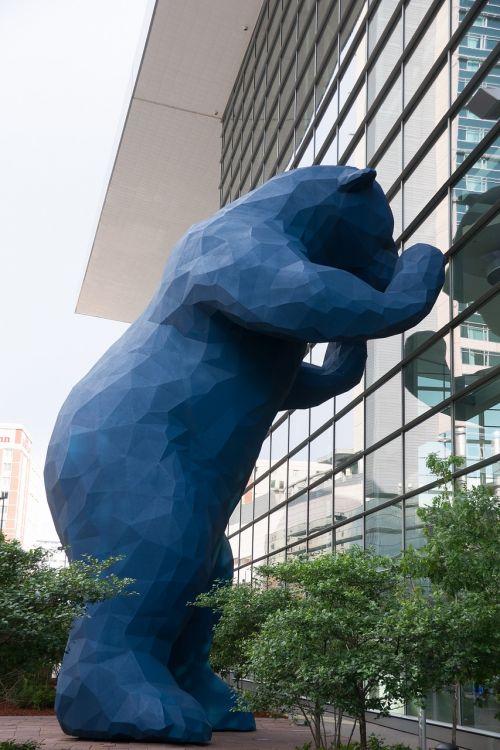 usa denver blue bear