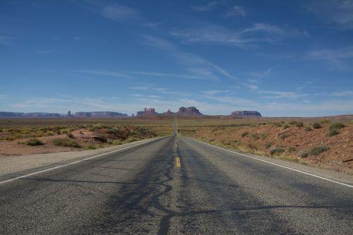 usa road endless