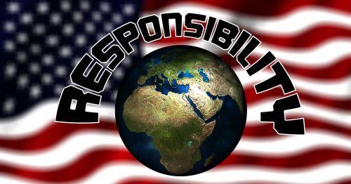 usa flag responsibility