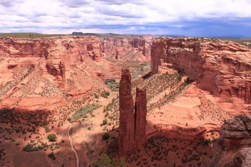 usa canyon de chelly rock