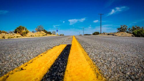 usa,kelias,amerikietis,tiesus,asfaltas,greitkelis,Kalifornija,kelių ženklinimas