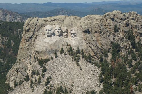 usa rushmore landmark